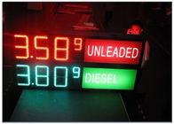 LED Gas Station Sign for Oil Price , RF LCD Wireless Remote Control Digital 7 Segment Display