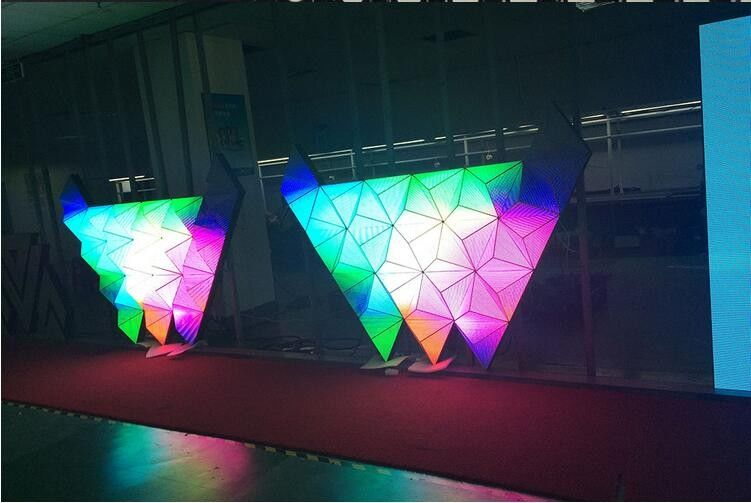 Aluminum SMD 3528 DIY LED Display 3D for Stage / Concert / TV Station